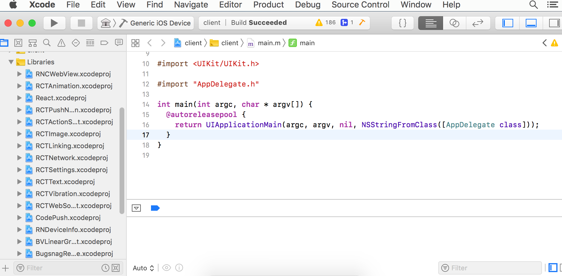 Xcode Libraries